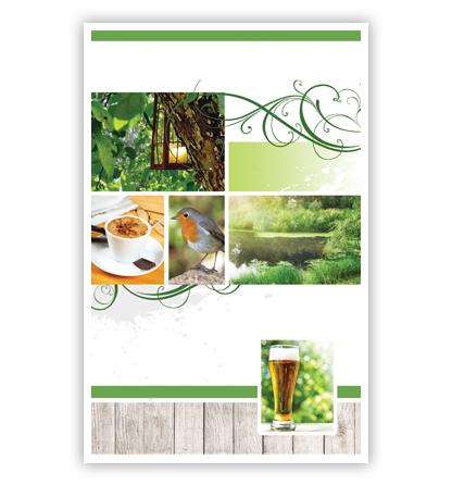 Dubbele kaart - Collage: bier
