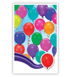 Dubbele kaart - Ballonnen