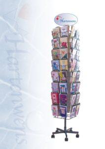 kaartenmolen met luxe wenskaarten